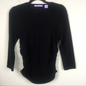 Autumn Cashmere Black 100% Cashmere Sweater